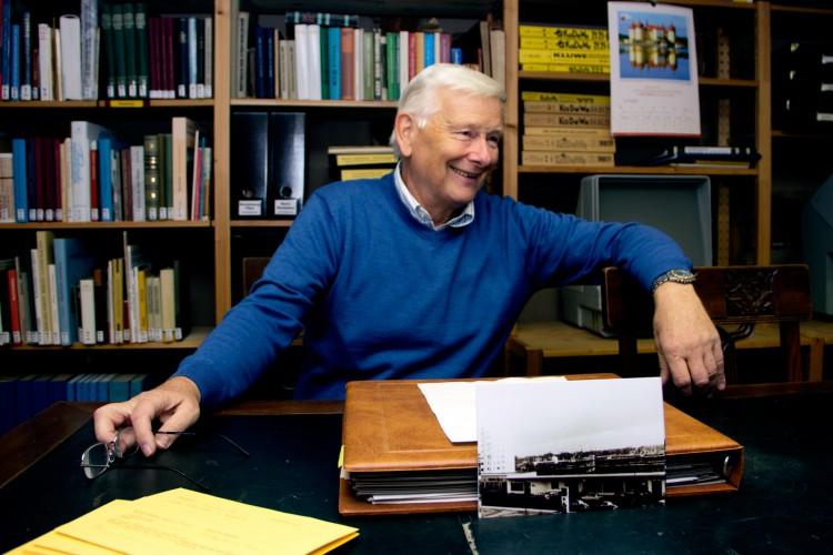 Jürgen Thonert ist für die Archivpflege verantwortlich und schreibt die Zeittafel im Heimatbrief sowie das Jahrbuch seit 20 Jahren.